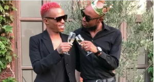 Somizi Has Launched A limited Edition Champagne With G.H. Mumm
