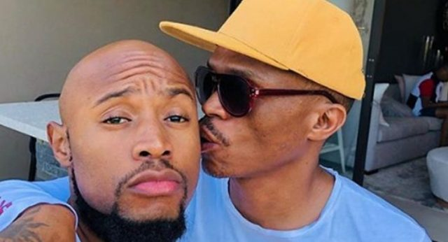 Somizi Mhlongo and his husband Mohale Motaung have already started planning for their white wedding on January 2020.