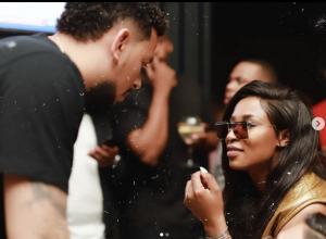 Dj Zinhle Responds To Rumours That She And AKA Broken Up