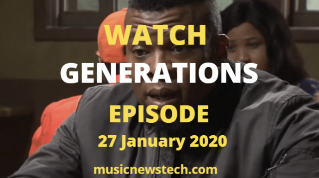Generations:The Legacy Latest Episode YouTube Video,27 January 2020