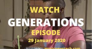 Generations:The Legacy Latest Episode YouTube Video,29 January 2020