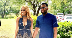 Mr and Mrs Khune Latest Photos You Need To See