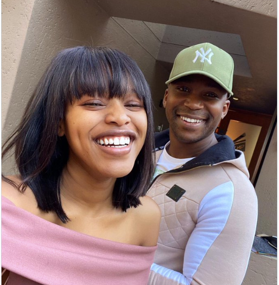Former The Queen Amo [Nathasha Thahane] and Naak MusiQ Dating Rumours Pics