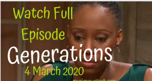 Generations:The Legacy 4 March 2020