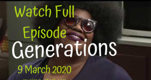 Generations:The Legacy 9 March 2020 Latest Episode YouTube Video