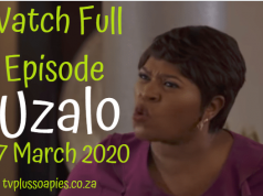 Uzalo 17 March 2020 Latest Episode YouTube Video
