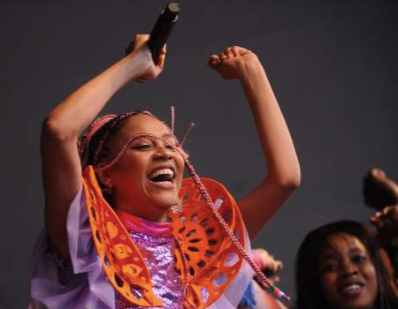 WATCH: Sho Madjozi and Prince Kaybee Get The Crowd On Their Feet