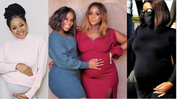 Top South African Celebrities Who Are Currently Pregnant 2020