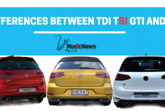 What is the difference between the TDI TSi GTI and R?
