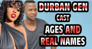 Durban Gen Actors Real Names And Their Ages in 2021